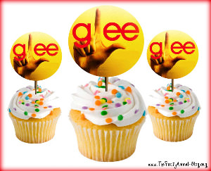 FREE Printable Glee Cupcake Toppers