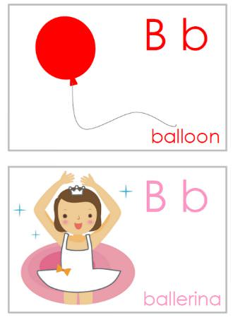 Alphabet Flashcards {printable alphabet letters} -