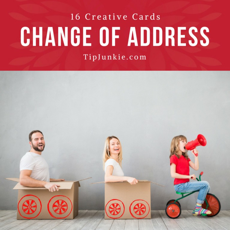 16 Creative Change of Address Cards for Moving Tip Junkie