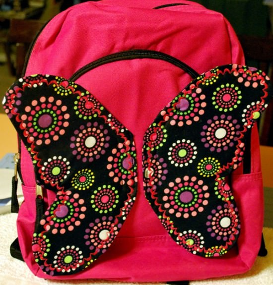 Butterfly Backpack Tutorial