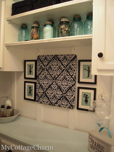 decorate laundry room