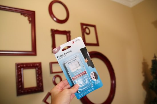 Empty frames wall decor no holes tip junkie - How to decorate a blank wall ...