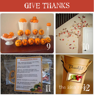 18 Thanksgiving Traditions {free printable}