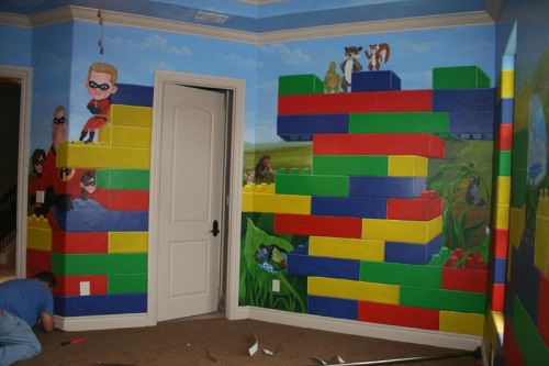 Boys Lego Bedroom Ideas 18 awesome boys lego room ideas! | tip junkie