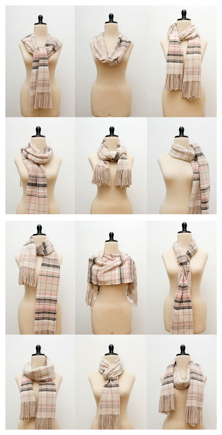 38 popular ways to tie a scarf tip junkie 12 trendy ways to tie a scarf how to wear ccuart Choice Image