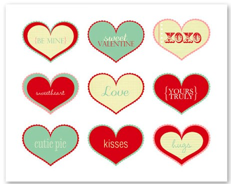 Valentine Collage Printable