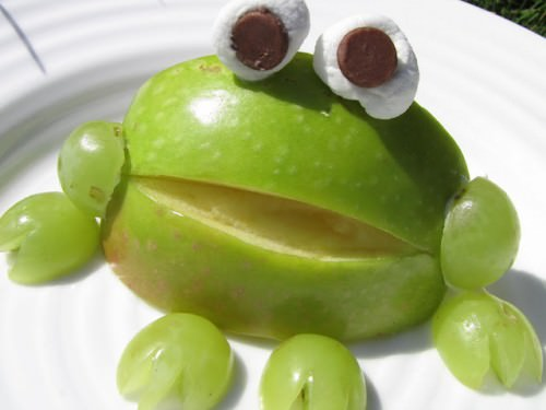 How To Make Apple Frogs