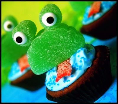 Leap Year Party Food Frog Cupcake Recipe