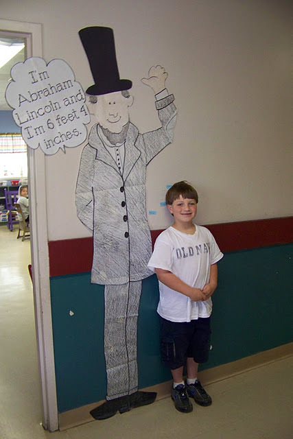 Are you taller than Abraham Lincoln?