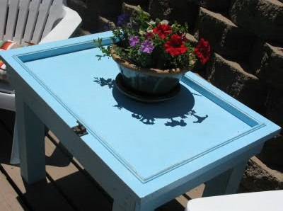 Table made out of Door