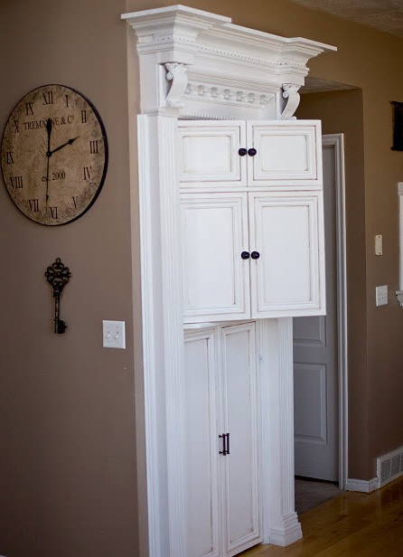 Faux Cabinet Pantry Door