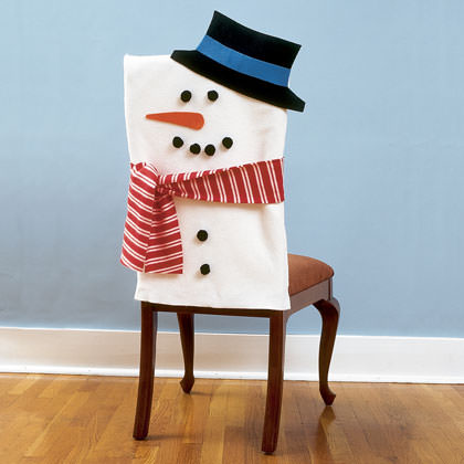 17. How To Make Snowman Chair Covers ...
