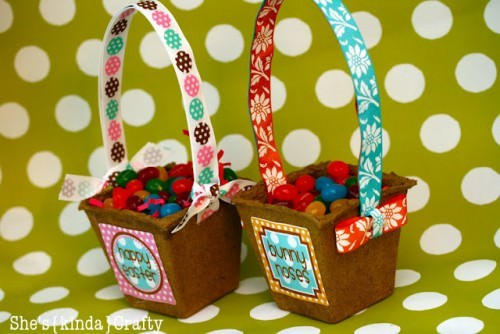Jelly Bean Baskets with Free Printable