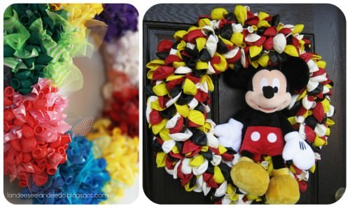 How to make Birthday Balloon Wreaths