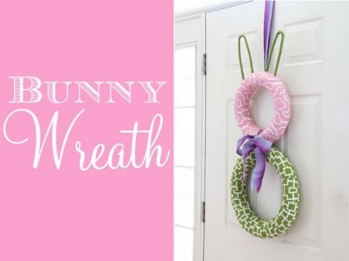 Bunny Circle Wreath Tutorial