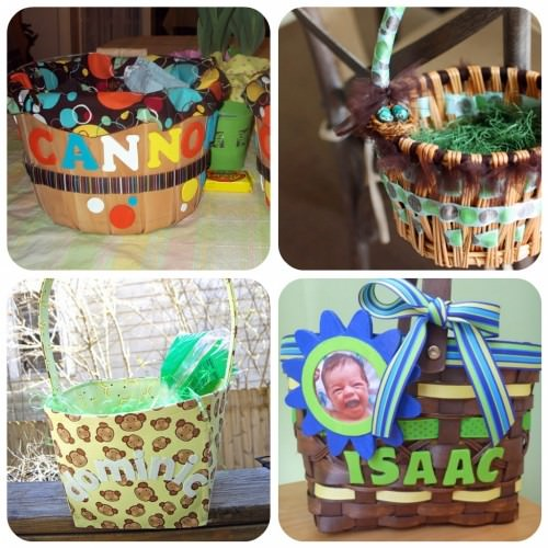 4 Easter Baskets For Boys