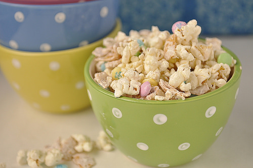 White Chocolate and Frito Popcorn