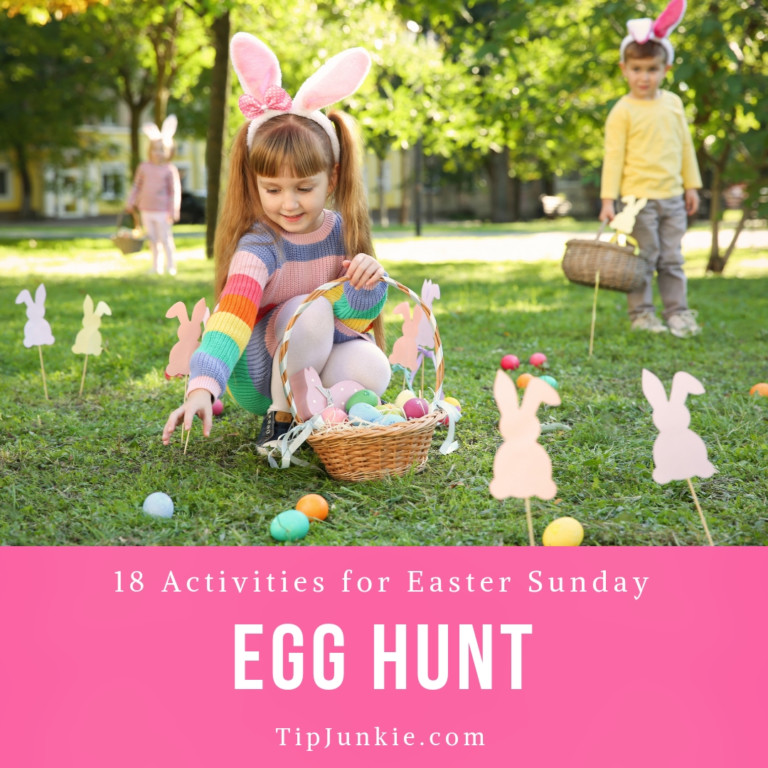 18 Easter Egg Hunt and Activities for Easter Sunday