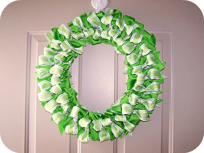 How to make Ribbon Wreath