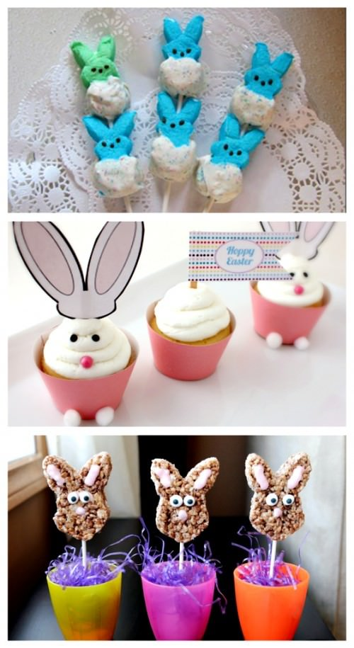 Easter Bunny Treat Recipes