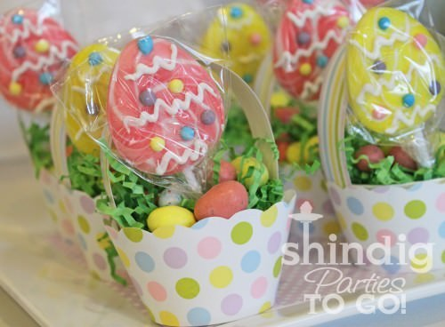 Cupcake Wrap Easter Basket Favors
