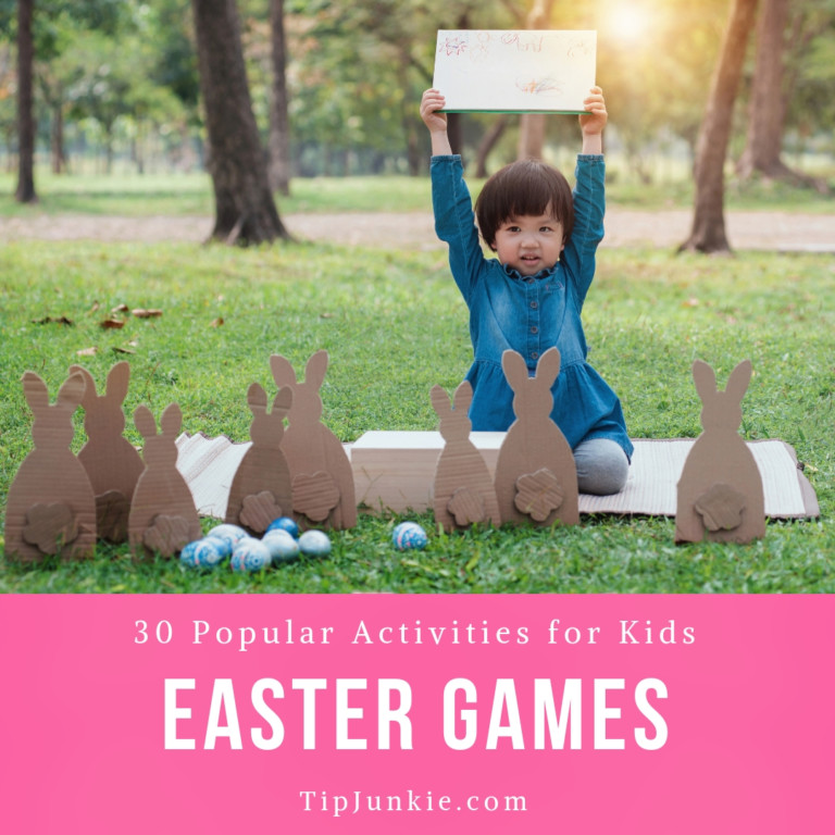 30 Popular Easter Games for kids