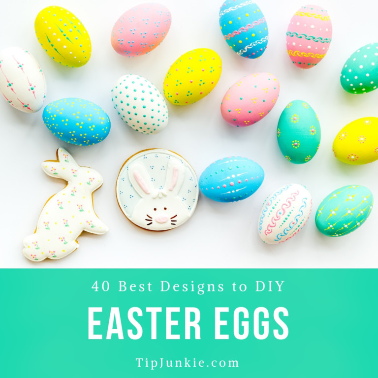 40 Best Easter Egg Designs to DIY on Tip Junkie