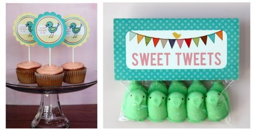 Printable Easter Candy Toppers