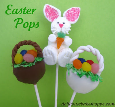 Easter Basket and Bunny Pops