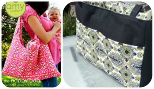 Homemade Diaper Bags