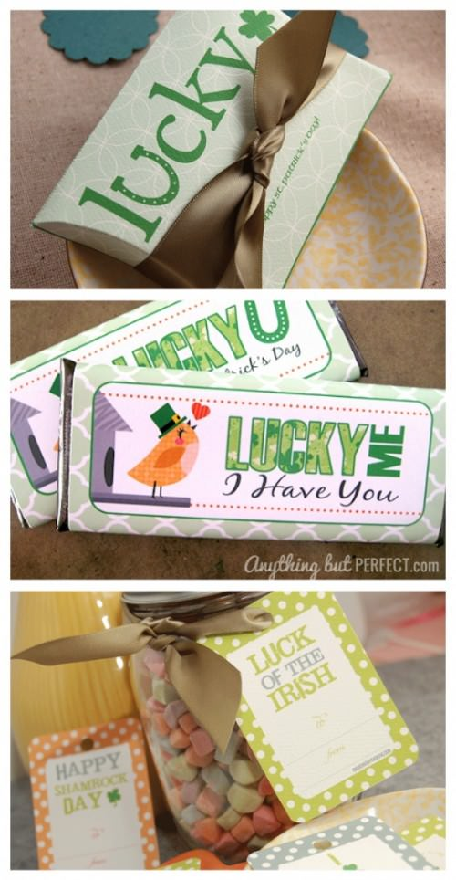 St. Patrick's Day Printable party favor