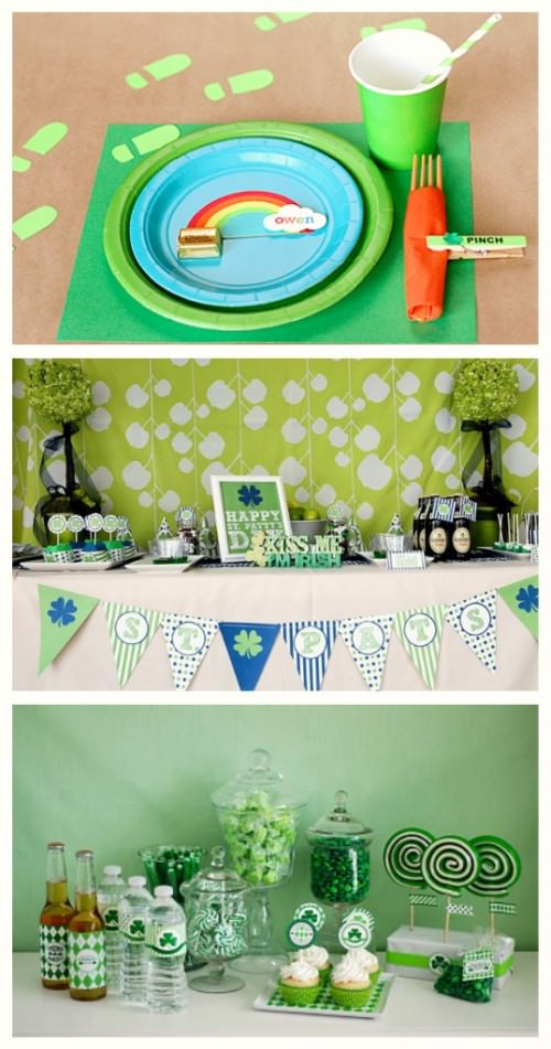 St. Patricks Day Party Decor