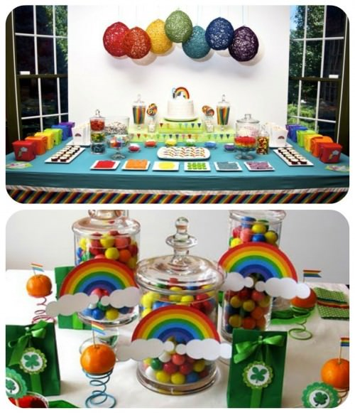 St. Patricks Day Rainbow Party