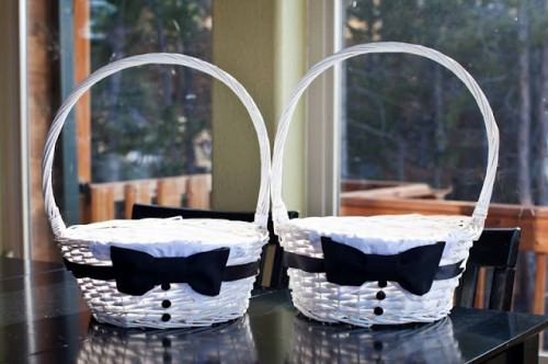 Tuxedo Baskets for Boys