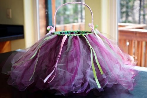 Tutu Easter Baskets for Girls