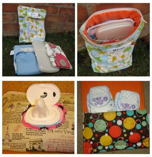All In One Diaper and Wipes Holder