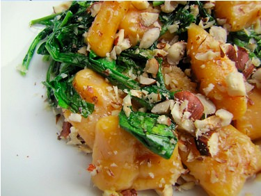Sweet Potatoe Gnocchi