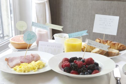 Free Mother's Day Breakfast Printables