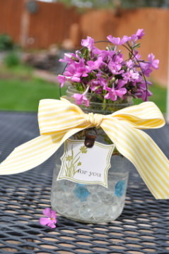 Sweet and Simple Mother's Day Vase