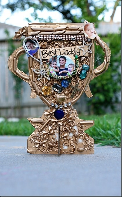 How to make Father's Day Trophies