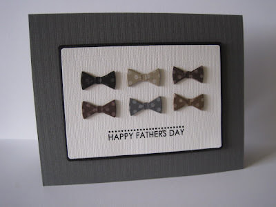 Bow Tie Happy Father Day Card