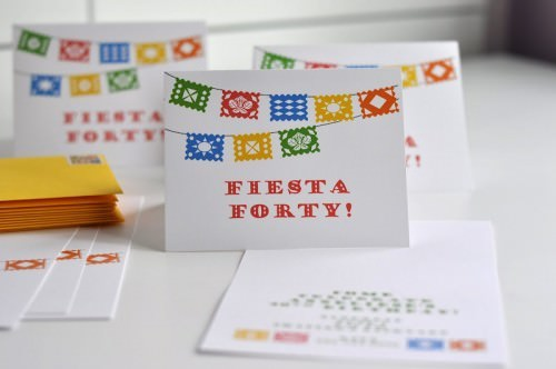 "Fiesta ""Forty"" 40th Birthday"