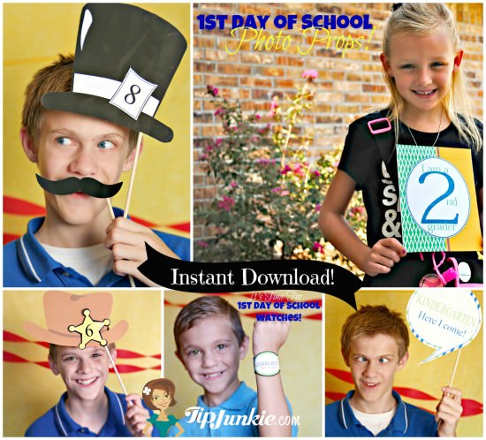 Last Day of school Graduation Free_Printable Photo Props from TipJunkie
