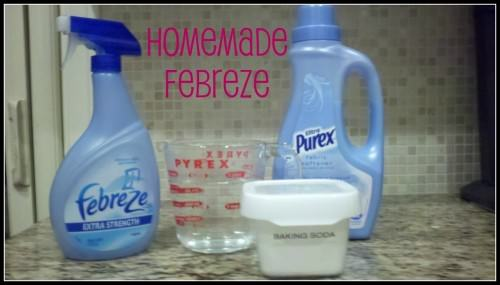 Homemade Febreeze Recipe