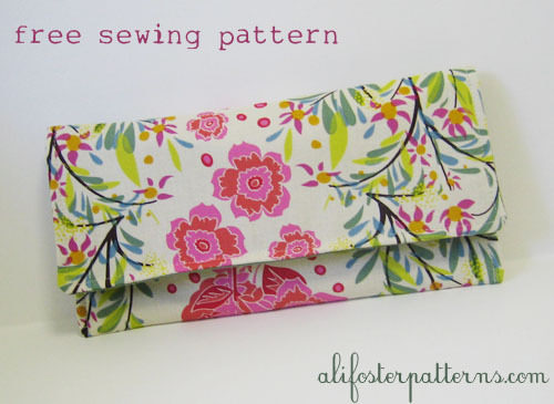 Free Clutch Sewing Pattern