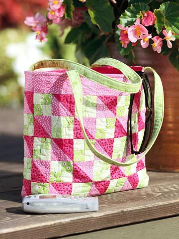 Bold Quilted Bag Pattern