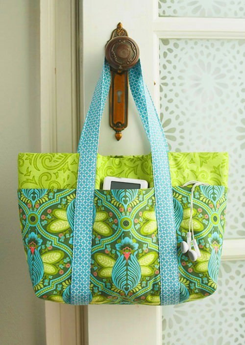 Pick-A-Pocket Purse Pattern {printable file}