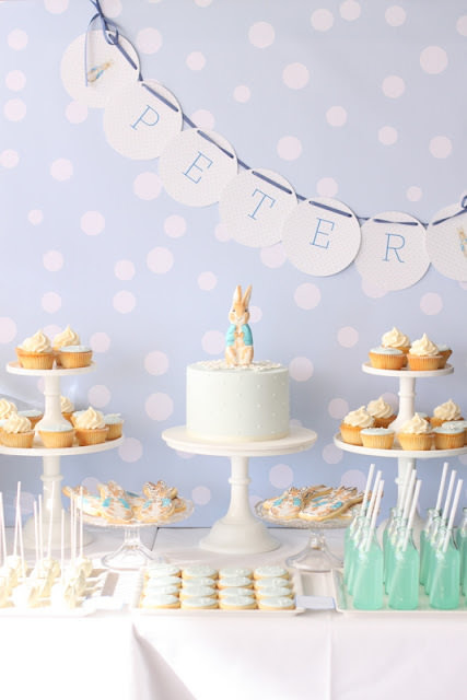 Peter Rabbit Party for Peters Christening