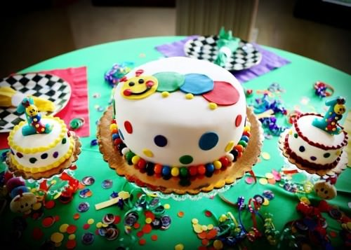 Baby Einstein 1st Birthday Party for Twins