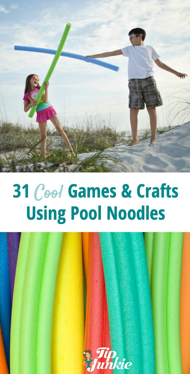 22 Cool Games and Crafts Using Pool Noodles – Tip Junkie